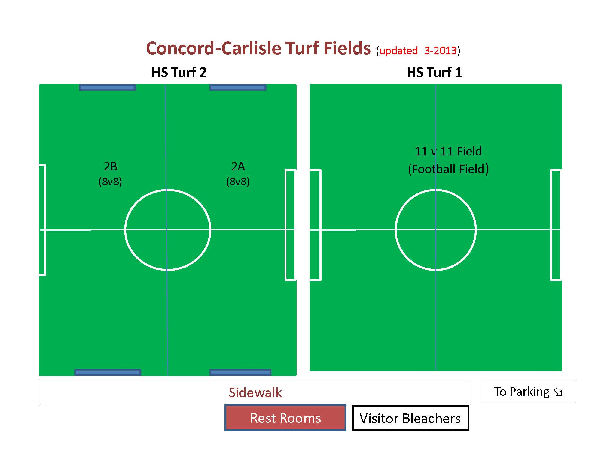 CCHS Turf Fields Layout 1